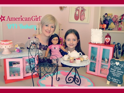 DIY: American Girl of the Year Grace's Bakery!!!