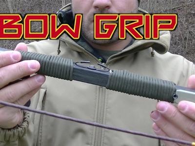 DIY Bow Riser Paracord Grip
