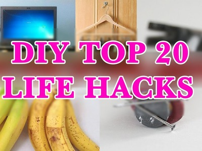 DIY Crafts - Top 20 Most Genius Life Hacks