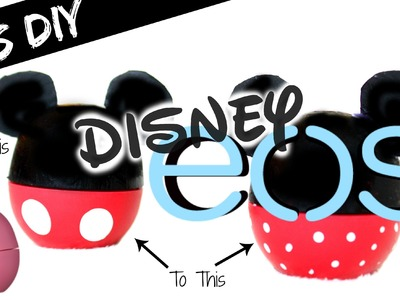 DIY Disney EOS Lip Balm | Giveaway Winner Announced