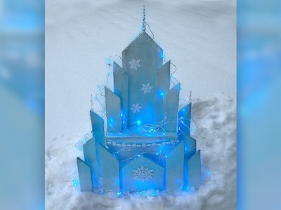 DIY Elsa's Ice Castle - Disney Frozen
