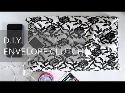 DIY Envelope Clutch | NANCY MAC