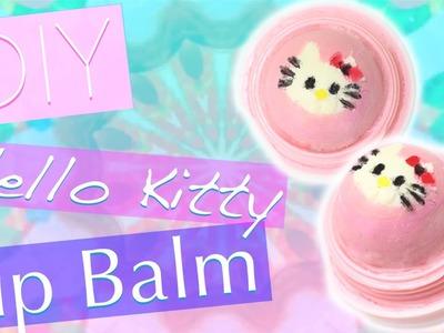 DIY Hello Kitty EOS Lip Balm | Cute EOS Design!