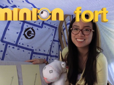 DIY: How to Build a Minion Lair Themed Fort. Forts n Crafts
