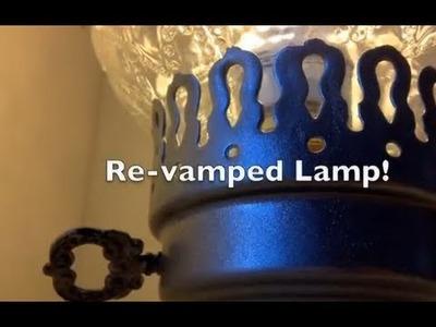 DIY: Lamp Re-Vamp ♡ Theeasydiy #RoomDecor