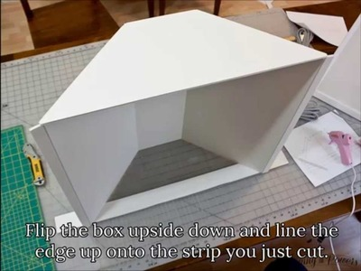 DIY (Lowel Ego) Tabletop Softbox for Photography