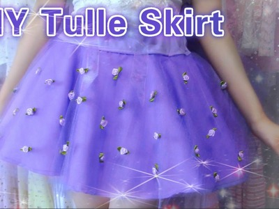 DIY Pastel Tulle Skirt | Back to School | Summer