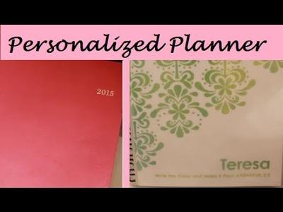 DIY Personalized Planner | Walmart Planner | Teresa Lawson