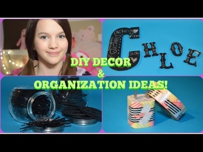 DIY ROOM DECOR & ORGANIZING IDEAS | CHLOE EAST