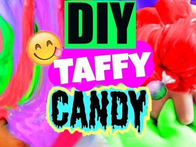 DIY Taffy Candy! Squishy Slimy Candy DIY!