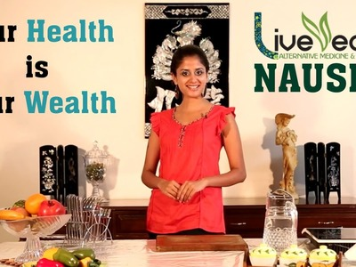 DIY: Treat Nausea & Vomiting with Natural Home Remedies | LIVE VEDIC