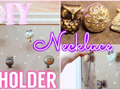 DIY Tumblr + Pinterest Inspired Jewelry Holder!