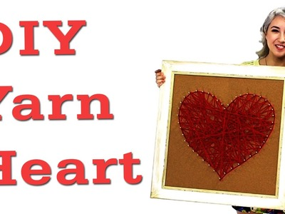 DIY Yarn Heart + OOTD with Kota! #17daily