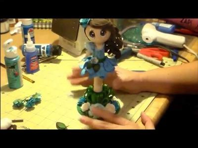 Fairy Fofucha Pen Doll Tutorial 3 of 3