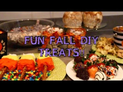 Fall DIY Treats!!