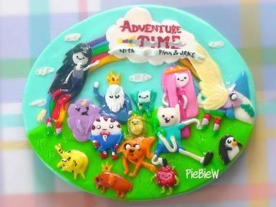 Handmade Adventure Time Magnet!