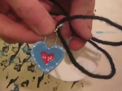 Heart Piece Necklace Making - The Legend of Zelda Ocarina of Time Version