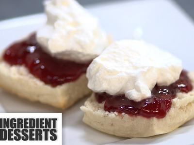 Home Made Scones | 5 Ingredient Desserts