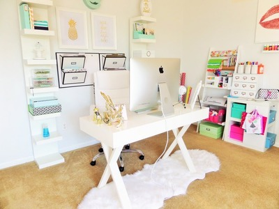 Home Office & Organization Tour: My Favorite Organized Space {Collab}