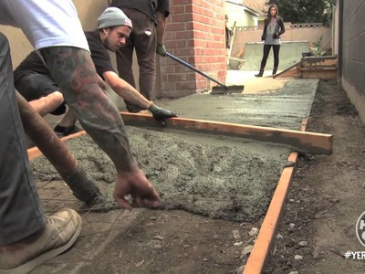 How To Build a DIY Quarterpipe - Behind The Scenes - Yer Welcome
