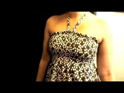 How-to Make a Summer Dress, Threadbanger