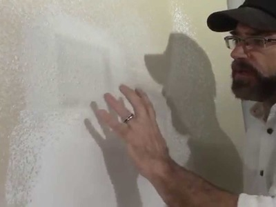 How to Repair Drywall and Match Texture - DIY Duke