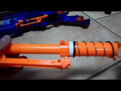 How To: The Ultimate Nerf Longstrike CS-6 Mod Tutorial (And Fangstrike Commission)