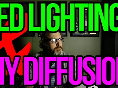 LED Lighting & DIY Diffusion for DSLR Video
