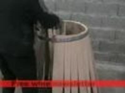 Making a wine barrel at C Gillet Cooperage