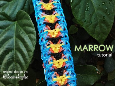MARROW Rainbow Loom bracelet tutorial
