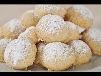 Mexican Wedding Cakes Recipe Demonstration - Joyofbaking.com