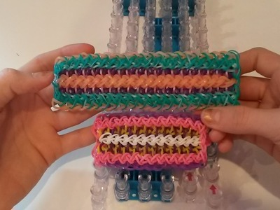 NEW! Hand In Hand Bracelet on the Rainbow Loom