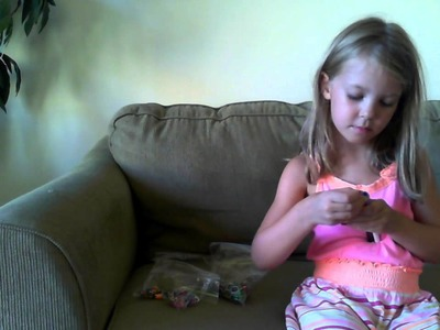 "Rainbow Loom - ""Dog Tail"" bracelet - Part 1 - the Start"