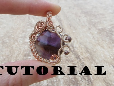 Tutorial.Demo: Wire Wrapped Gemstone Pendant