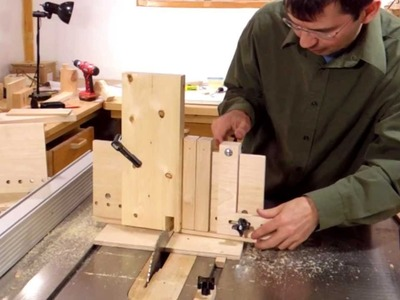 Using the dovetail jig