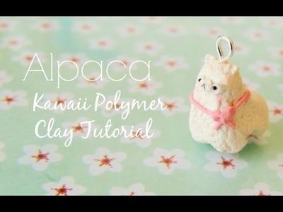 Alpaca Charm Polymer Clay Tutorial