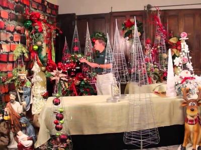 Cest Noel Theme Prelit Christmas Trees   Trees n Trends   Unique Home Decor
