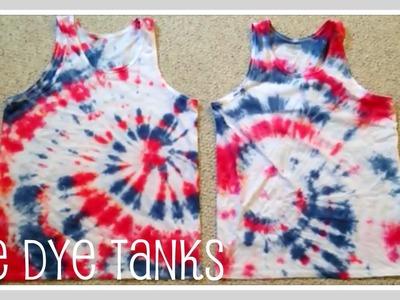 Craft- Tie Dye Tanks