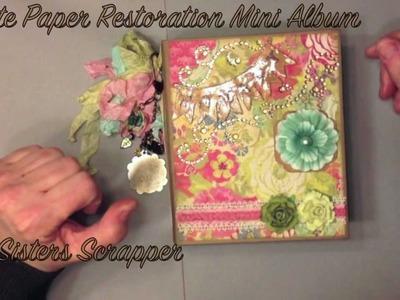 Crate Paper Restoration Mini Album