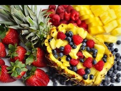 *DIY* Fruit Facial Fridays! {Pineapple}