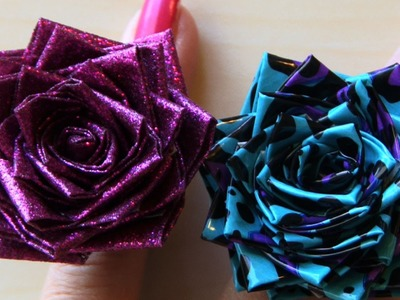DUCT TAPE ROSE RING - How to