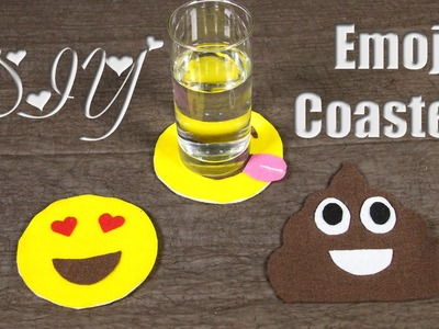 Emoji CD Coasters ♥ DIY