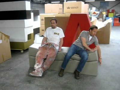 Foamcoating, deflation bench by sixinch design furniture foamcoating
