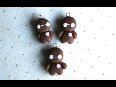 Gingerbread Baymax Polymer Clay Tutorial
