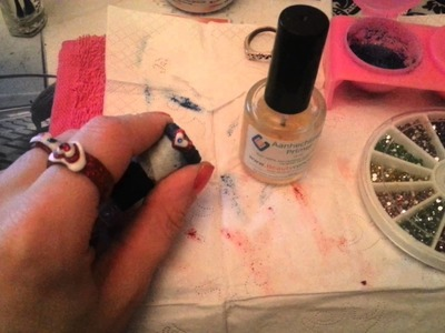 How I make an acrylic ring