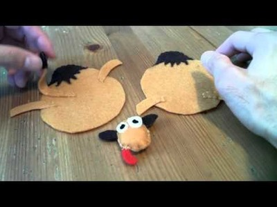 How to make a Camel plush tutorial