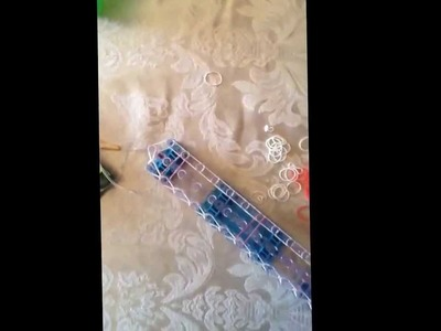 "How to make a Letter ""O"" Rainbow Loom Bracelet"
