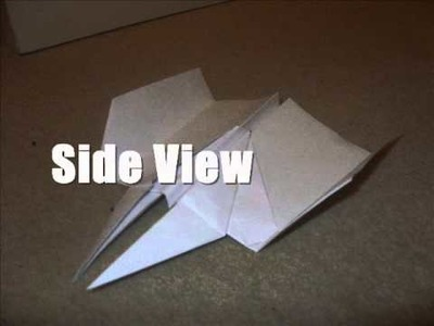 How To Make An Awsome Paper Airplane!