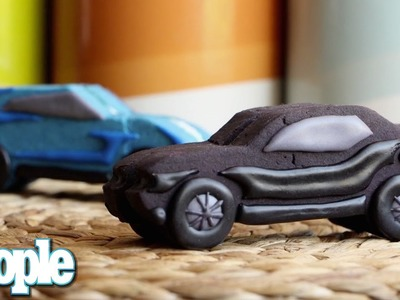 How To Make Fast & Furious 7 Cookie Sandwiches   Great Ideas   PEOPLE