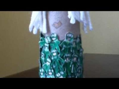 Lady Gaga Toilet paper roll Dolls